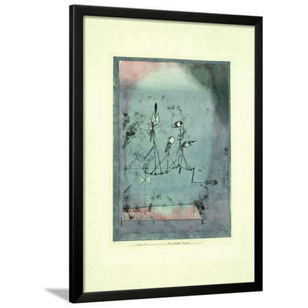 Twittering Machine >> Twittering Machine Expressionism Abstract Art Framed Print Wall Art