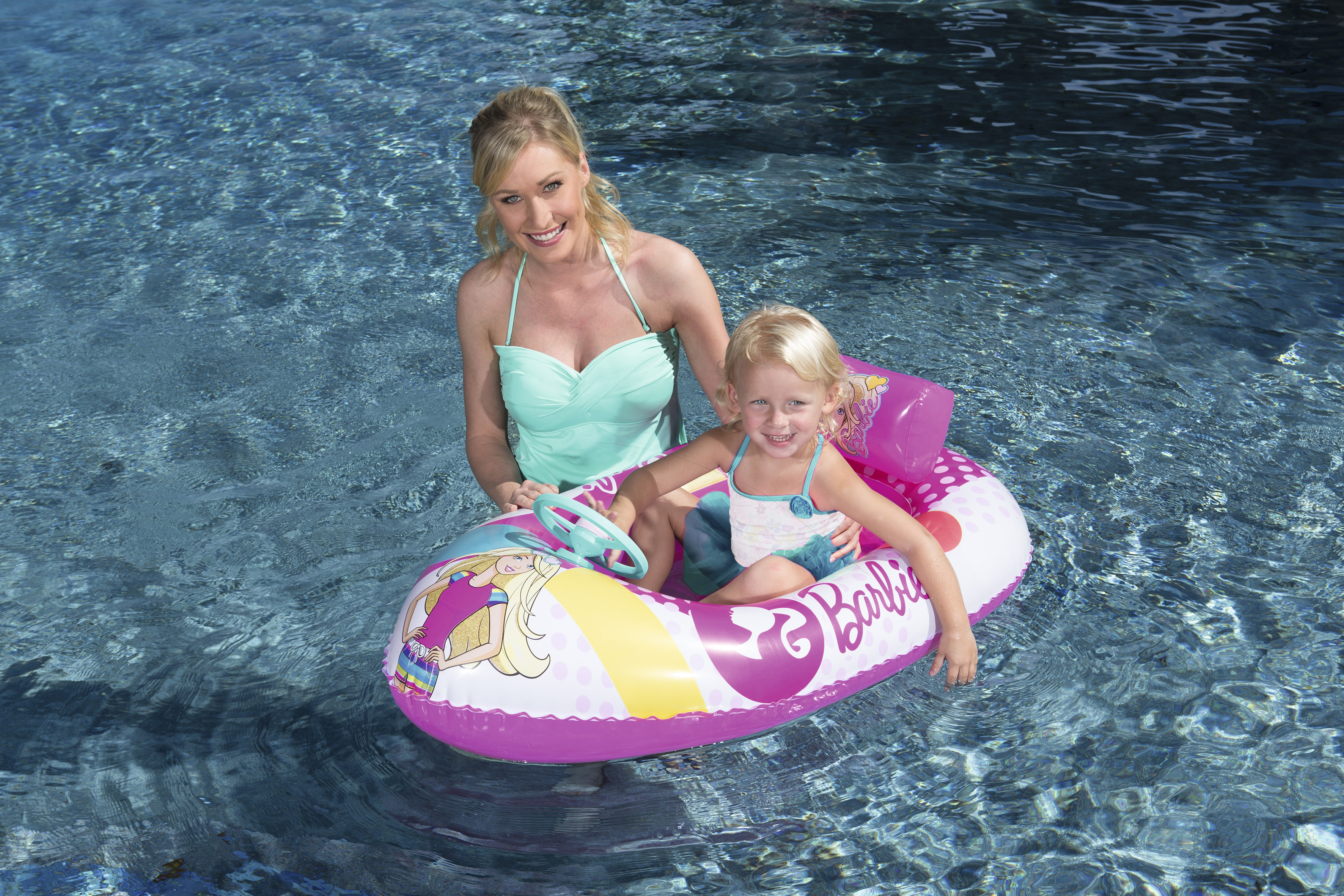 Barbie Fashion Boat Inflatable Pool Float