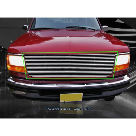 Fedar Main Upper Billet Grille For 1992-1996 Ford Bronco/F-150 F250 F350