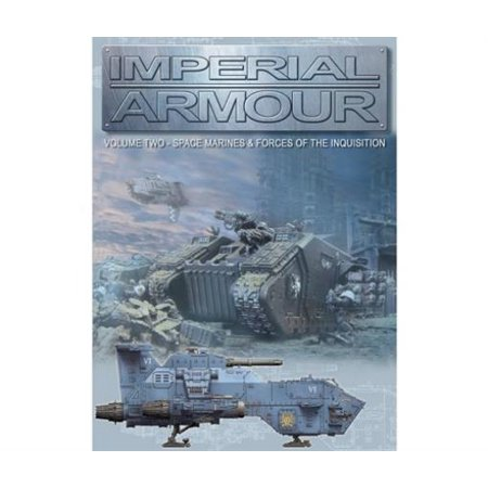 Imperial Armour #2 - Space Marines & Forces of the Inquisition Lightly Used