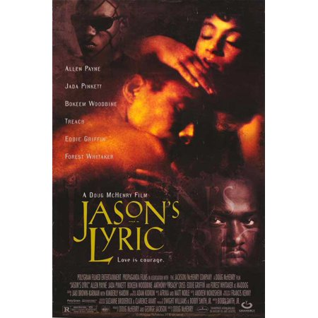 Jason's Lyric POSTER Movie B Mini Promo