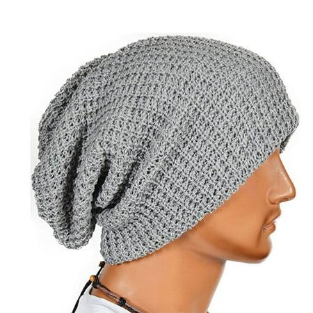 EEEkit - Slouchy Long Oversized Beanie Hat fc5894910c7