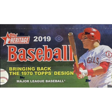 MLB 2019 Topps Heritage Baseball Complete Hand Collated Trading Card Set [400 Cards , No Short Prints]