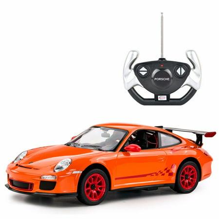 1 14 Scale Porsche 911 Gt3 Rs Radio Remote Control Model Car R C Rtr  Orange