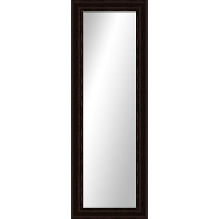 Montebello bronze full length mirror for Full length mirror black frame