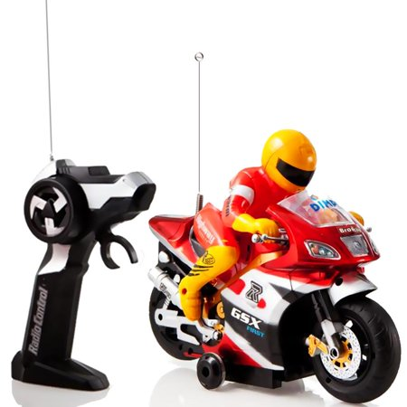 Matashi Red And Gold Speed Demon Electric Radio Remote Controlled Racing Motorcycle With Driver  Lights   Sound Effects By Dimple