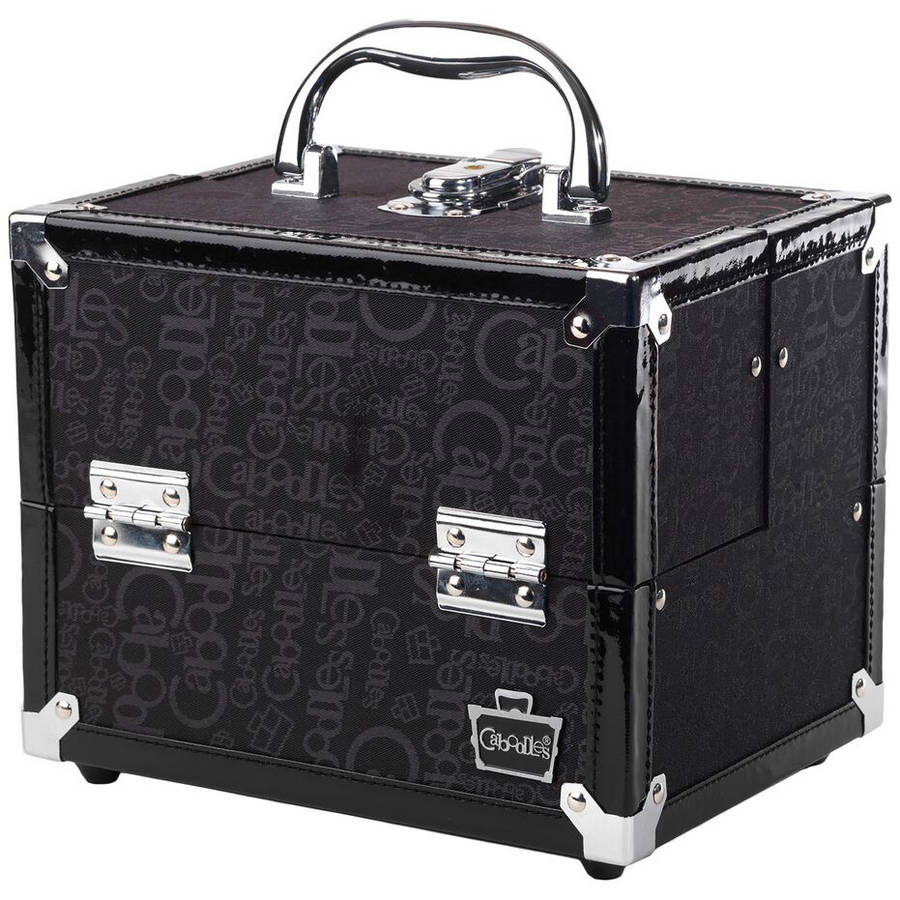 Caboodles Adored 4 Tray Train Makeup Case