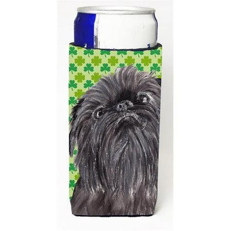 Brussels Griffon St Patricks Irish Michelob Ultra bottle sleeves For Slim Cans - 12 oz. - image 1 de 1