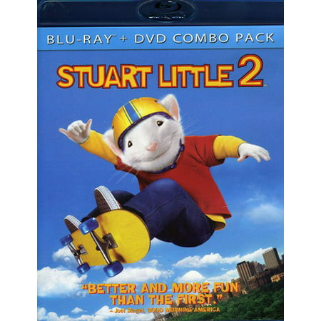 Stuart Little 2 Blu Ray DVD