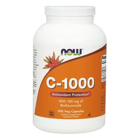 NOW Supplements, Vitamin C-1000, 500 Veg - C-1000 Buffered