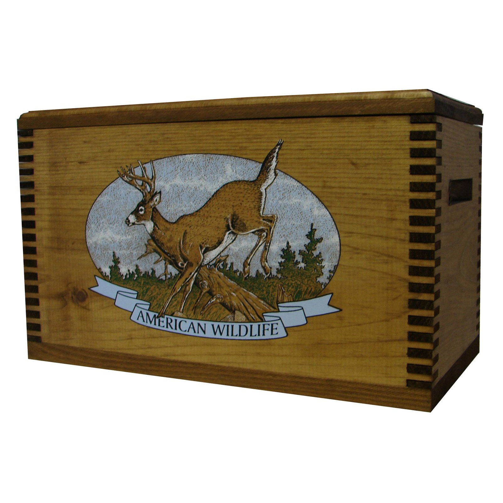 Evans Sports Standard Wooden Box with Rope Handle