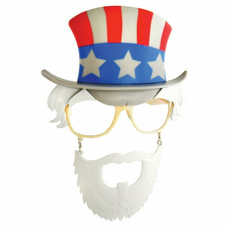 Uncle Sam Sun-Stache Glasses