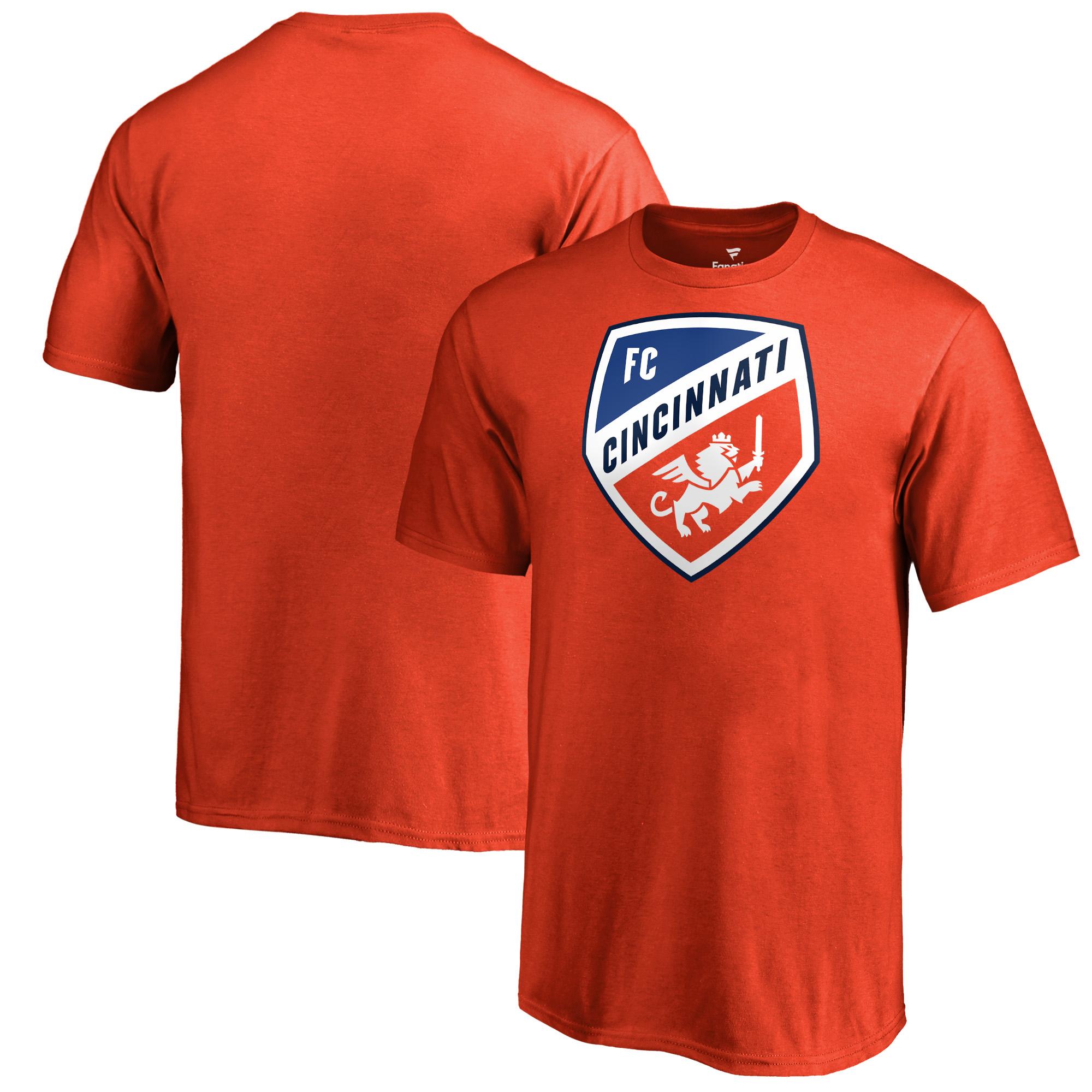 FC Cincinnati Fanatics Branded Youth Primary Logo T-Shirt - Orange