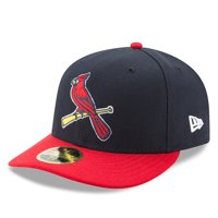 St. Louis Cardinals New Era Alternate 2 Authentic Collection On-Field Low Profile 59FIFTY Fitted Hat - Navy/Red