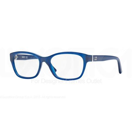 Dkny Glasses Frames Blue : DKNY Eyeglasses DY 4657 3644 Opal Blue 53MM - Walmart.com