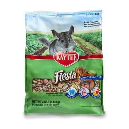 - Kaytee Fiesta Chinchilla Food 2.5 pound bag