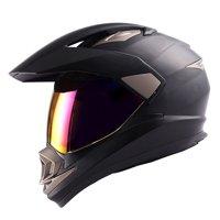 a3cd22cf Product Image Dual Sport Helmet Motorcycle Full Face Motocross Off Road Bike  Matt Black