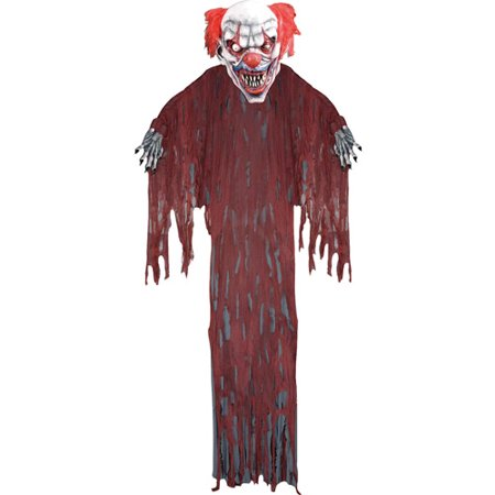 12' Hanging Clown Halloween Prop