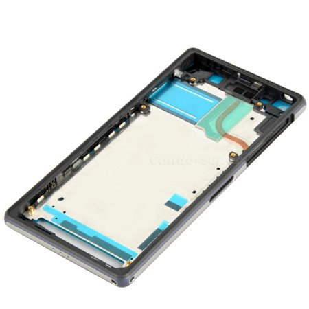 Back Housing and Frame for Sony Xperia Z2 - Black - image 1 de 1