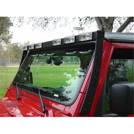 delta light d80 019570tj sky bar with 6 xenon driving lights for