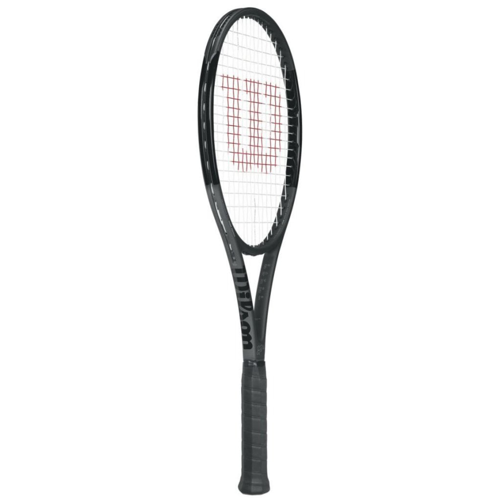 Wilson Pro Staff RF97 Black Tennis Racquet Roger Federer Autograph Quality String choice of grip size by Wilson Racquet Sports