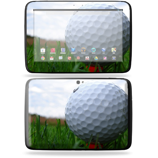 "Mightyskins Protective Skin Decal Cover for Samsung Google Nexus 10 Tablet with 10"" screen wrap sticker skins Golf"