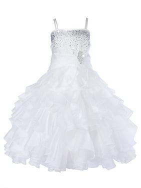 3faecea316c0 Gold Little Girls Dressy Dresses - Walmart.com