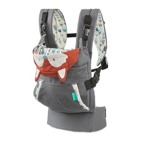 dc5407003de Infantino Cuddle Up Ergonomic Hoodie Fox Carrier - Walmart.com