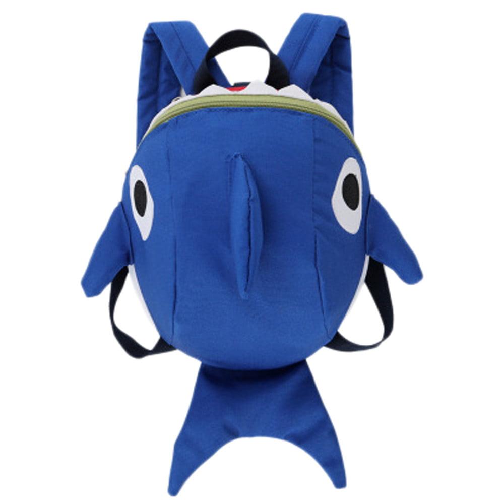 Children Baby Girls Boys Kids Cartoon Animal Backpack Toddler School Bag