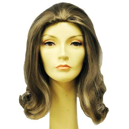 Morris Costumes LW475HBL Prom 1960S Pageboy Honey Blonde Wig Costume - Pageboy Wig