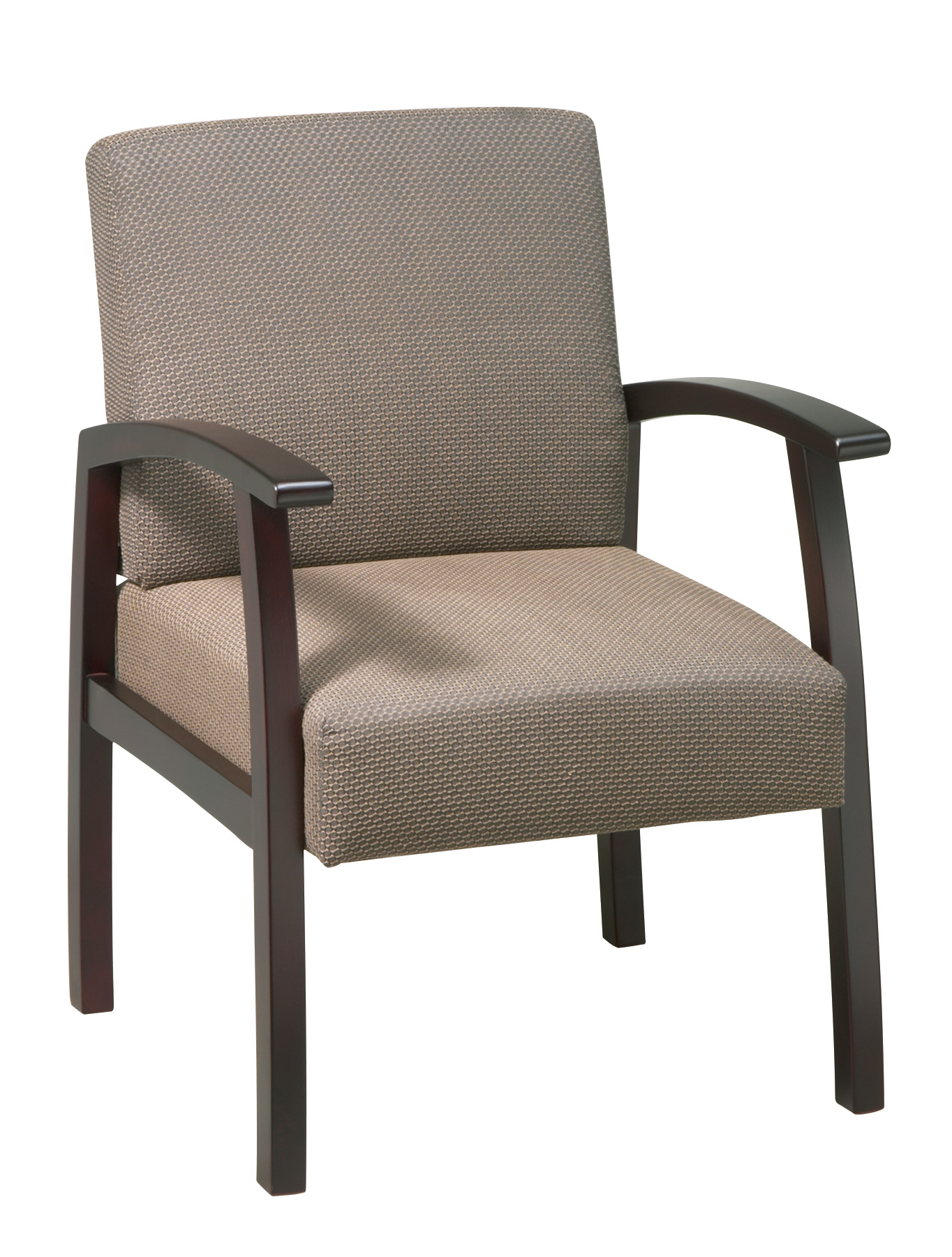 Guest Chair with Taupe Upholstery by OfficeStarProducts