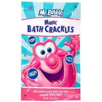 6 Pack - Mr. Bubble Magic Bath Crackles For Kids, 1.05 oz