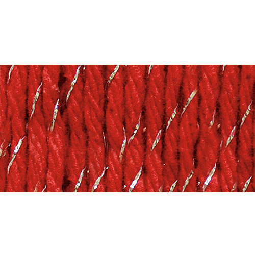 Bernat Handicrafter Holidays Sparkle Christmas Yarn
