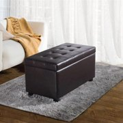 WyndenHall  Essex 34 inch Wide Contemporary Rectangle Storage Ottoman