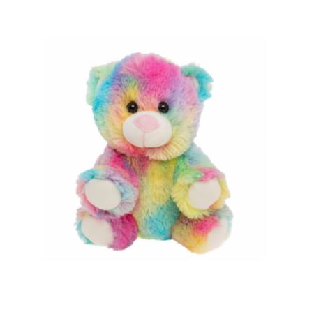 Cuddly Soft 8 inch Stuffed Rainbow Bear...We stuff 'em...you love 'em! Graduation Soft Bear