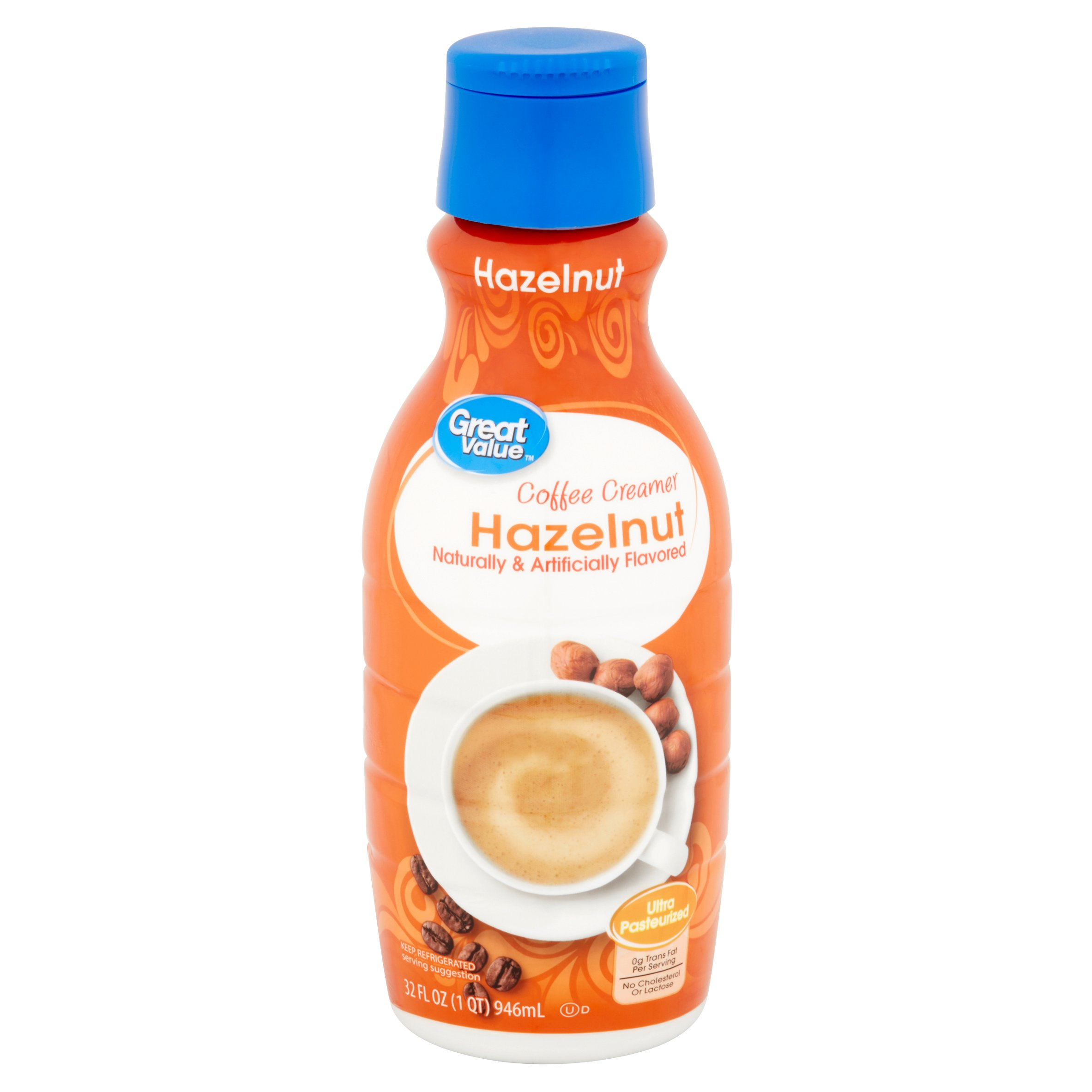 Great Value Coffee Creamer, Hazelnut, 32 Fl Oz   Walmart.com