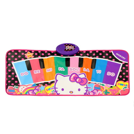 Hello Kitty Piano Music Mat - Hello Kitty Makeup For Halloween