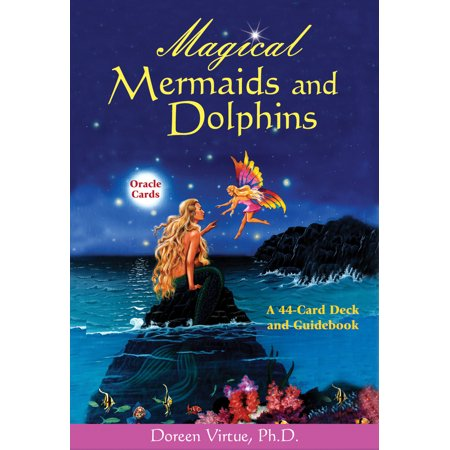 Magical Mermaids and Dolphins Oracle Cards : A 44-Card Deck and (Magical Mermaids And Dolphins Cards Doreen Virtue)