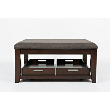Jofran Twin Cities Ottoman Cocktail Table - City Table