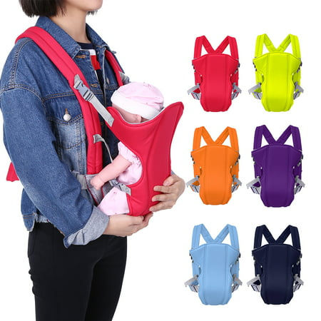 Ymiko 1pc Newborn Infant Baby Carrier Backpack Breathable