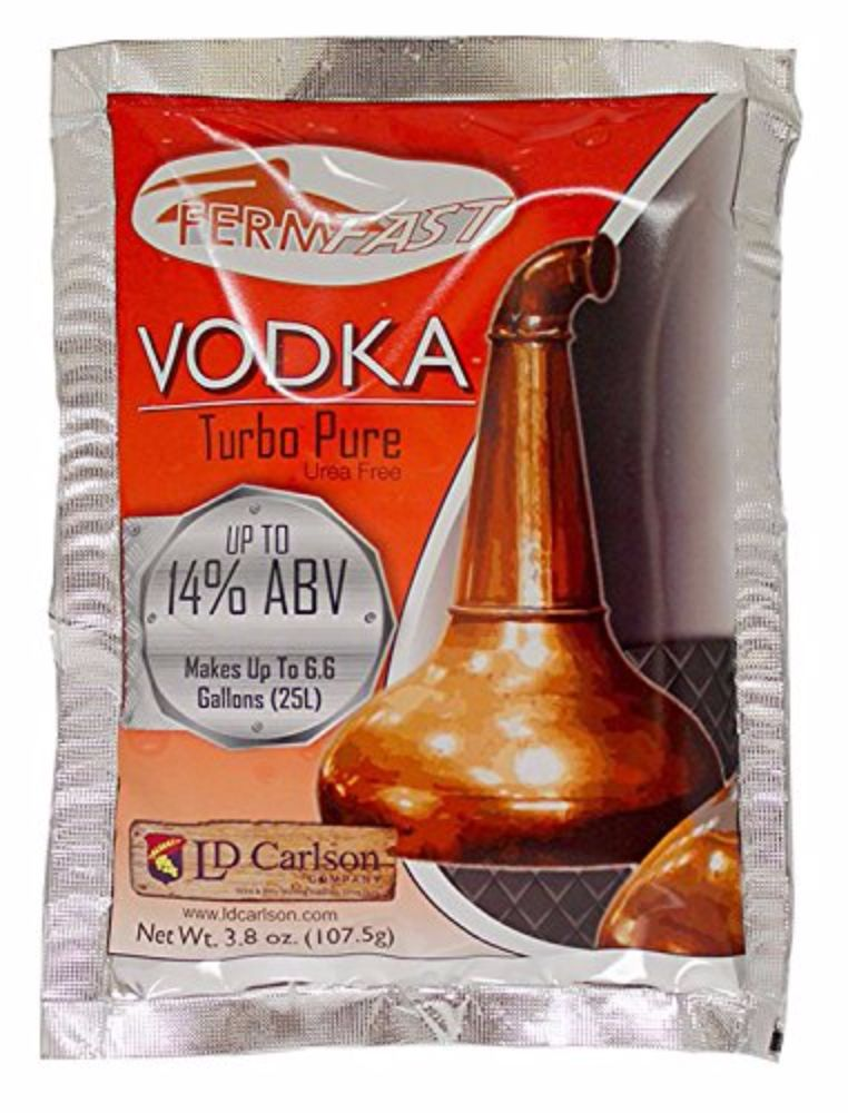 FermFast Vodka Turbo Yeast 107.5 g Packet by Home Brew Ohio