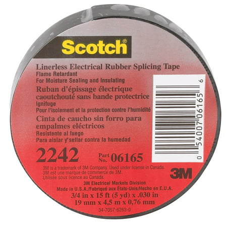 Linerless Electrical Rubber Tape 2242 - 3/4