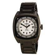 Diesel Men's DZ1494 Gunmetal Ion Plated Stainless Steel White Dial Watch