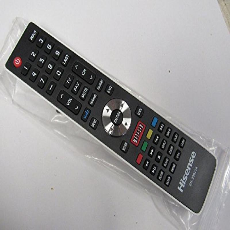 TopOne Hisense Smart TV Remote En 33922A Works with 50K61...