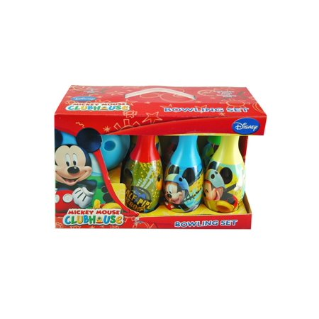 Mickey Mouse Child Bowling Set - Giant Bowling