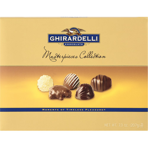 Ghirardelli Chocolate Assorted Chocolate Masterpiece Collection, 7.3 oz