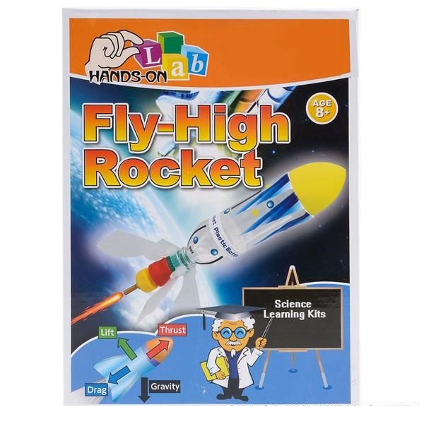 Hands-On Lab Science Learning Kit Fly HIgh Rocket by
