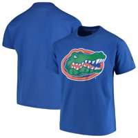Florida Gators Russell Athletic Youth Oversized Graphic Crew Neck T-Shirt - Royal