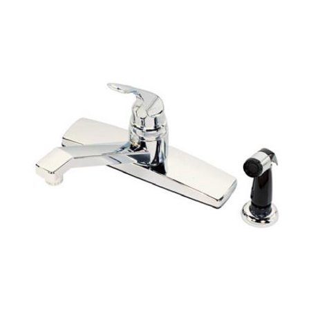 Ldr Industries 012 1405CP-CG Kitchen Faucet With Side Spray, Single-Handle,