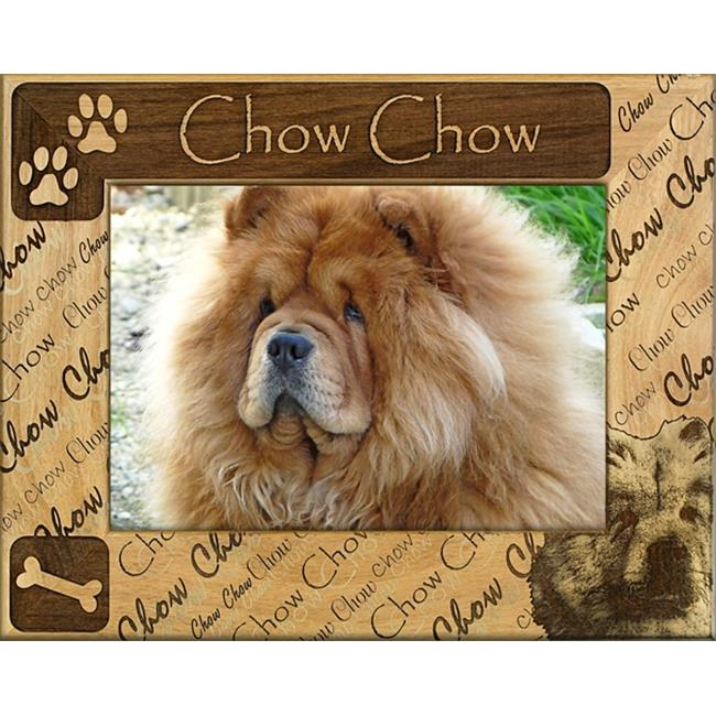Giftworks Plus DBA0196 Chow Chow Alder Wood Frame, 4 x 6 In